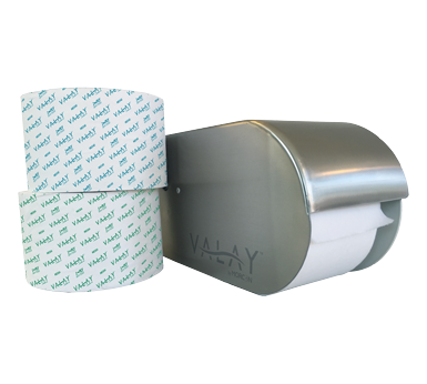 Commercial Specialty Tissue Products & Metal Small Core Tissue Dispenser
