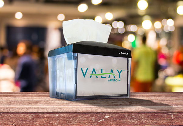 Valay Interfolded Napkin Tabletop Dispenser