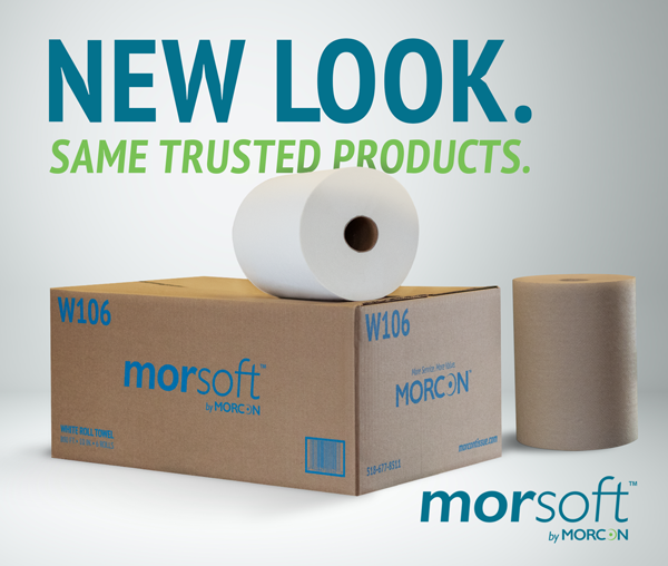 Morsoft by Morcon New Look Same Trusted Products graphic
