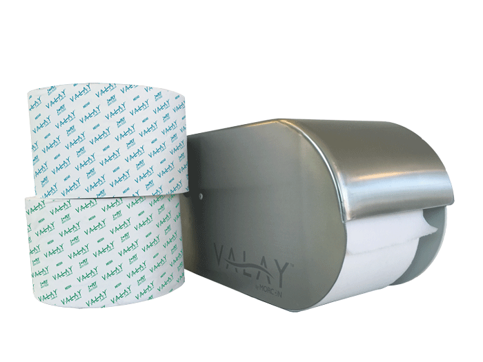 1-ply and 2-ply Toilet Paper & Dispenser