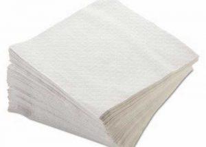 Stack of Morsoft Quarter Fold Dinner Napkin
