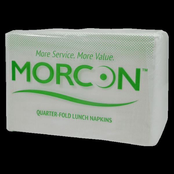 package of L12500 Morsoft quarter fold lunch napkins