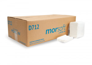 Morsoft D712 Low Fold Dispenser Napkin