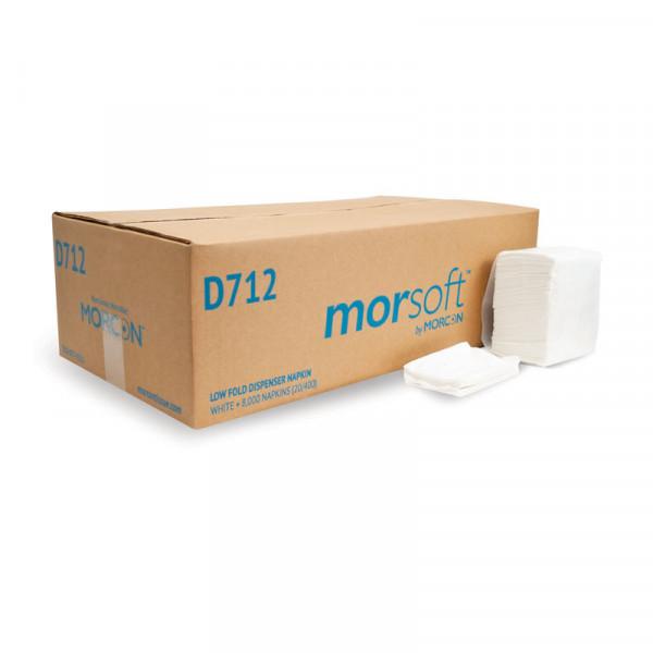 Morsoft D712 Low Fold Dispenser Napkin