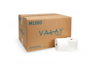 Valay M1000 Small Core Bath Tissue Alternative