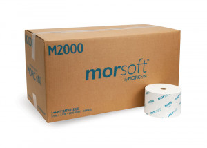 Morsoft M2000 Small Core Bath Tissue