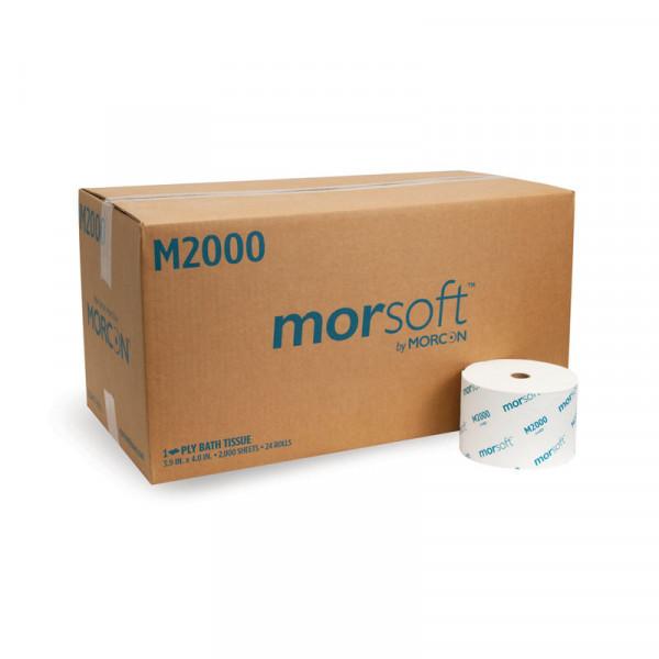 Morsoft M2000 Small Core Bath Tissue