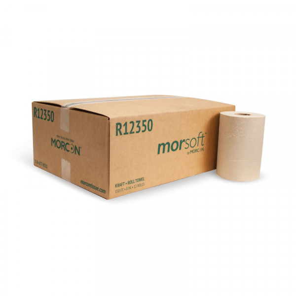 Morsoft R12350 Kraft Roll Paper Towel