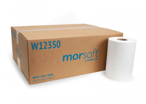 Morsoft W12350 White Roll Towel