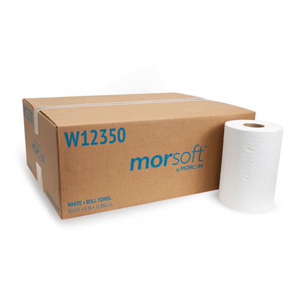 Morsoft W12350 White Roll Towel