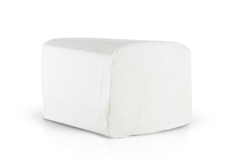 Stack of 1717 Morsoft Quarter Fold Dinner Napkin