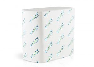 stack of 4500VN Valay Interfolded Napkins by Morcon