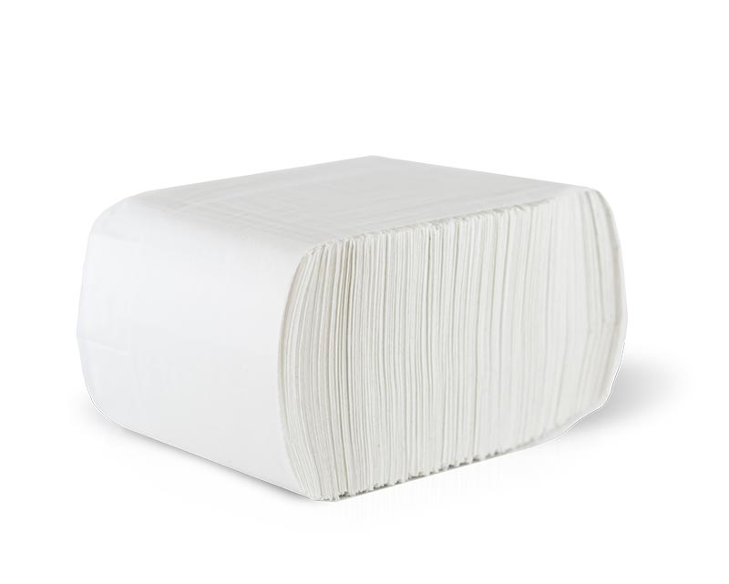 Stack of D712 Low Fold Dispenser Napkin