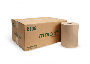 Morsoft R106 10 IN Kraft Roll Towel