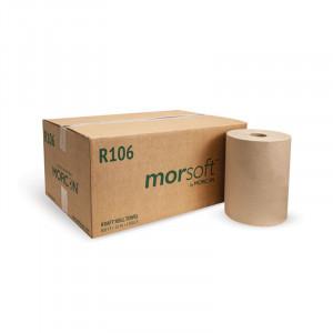 Morsoft R106 10 IN Kraft Roll Towel