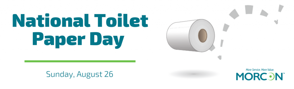 National Toilet Paper Day graphic