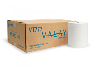 Valay VT777 White Proprietary Roll Towel