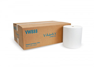 Valay VW888 White Proprietary Roll Towel