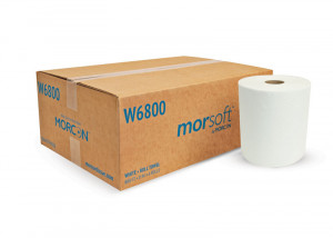 Morsoft W6800 White Roll Towel