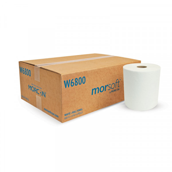 Morsoft W6800 White Roll Towel