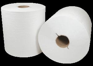 rolls of 300WI Morsoft Hardwound I-Notch Towels