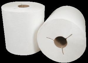 400WY Morsoft Hardwound Y-Notch Towel Rolls