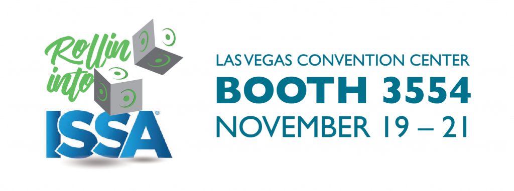 Rollin into ISSA Las Vegas Convention Center Booth 3554 November 19-21st