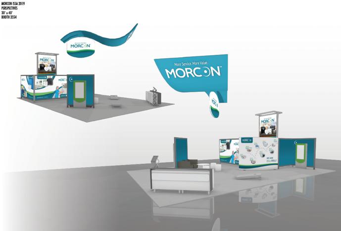 Sneak Peak of Morcon Tissue's 2019 ISSA Booth