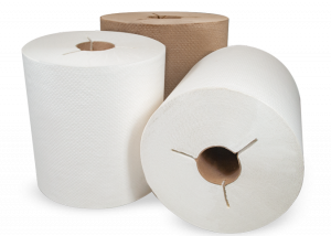 Controlled Hardwound Roll Towels