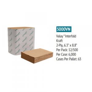 5000VN Interfold Napkin Spec