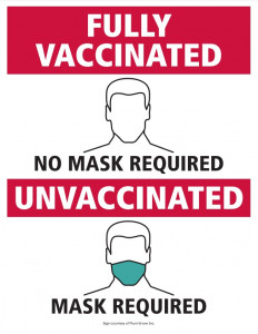 Vaccine guideline poster